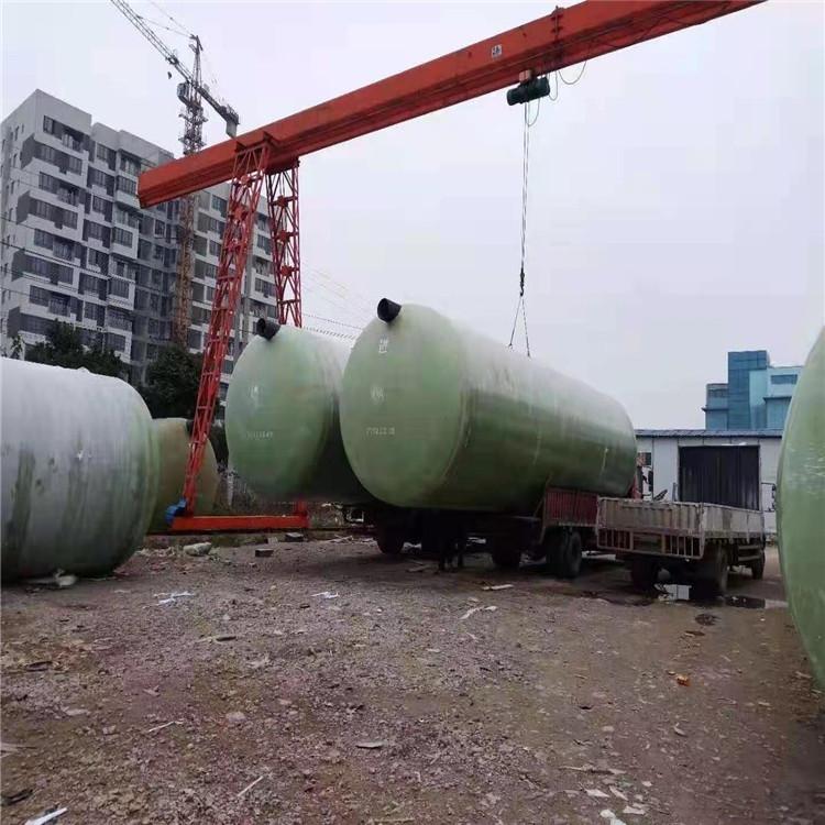 衢州60立方玻璃钢化粪池多少钱一立方