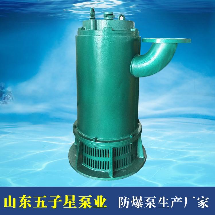 五星泵業廠家直銷BQS70-35-15潛水排沙排污泵 防爆不堵塞