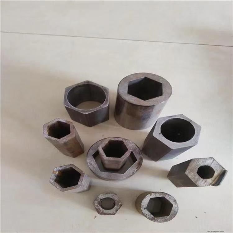 精密異型管 現貨供應 45#異型管 無縫六棱鋼管 空心六方管