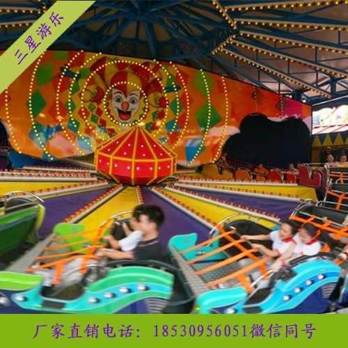 大型儿童游乐场设备雷霆节拍游乐设备排行趋势