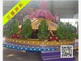 公园游乐设备章鱼转盘参数儿童游乐设备咨询厂家