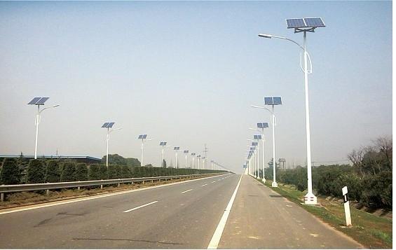 陕西西安新城乡村太阳能路灯厂家制造