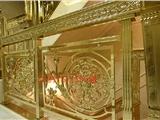 欧式豪华室内装饰经典郁金香楼梯护栏