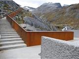 济南Q355NHA考登钢_耐候钢板景墙价格
