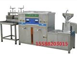 全自动大型豆腐机器电热蒸汽豆浆机彩色豆腐机300型带技术