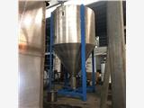 高密市不锈钢色母色粉混色机,立式通用塑料拌料桶的型号