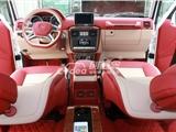奔驰G500全车内饰翻新修复 座椅升级加通风包真皮