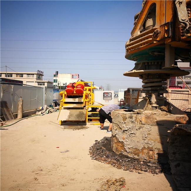 江蘇蘇州天門樁基泥漿分離器指導報價