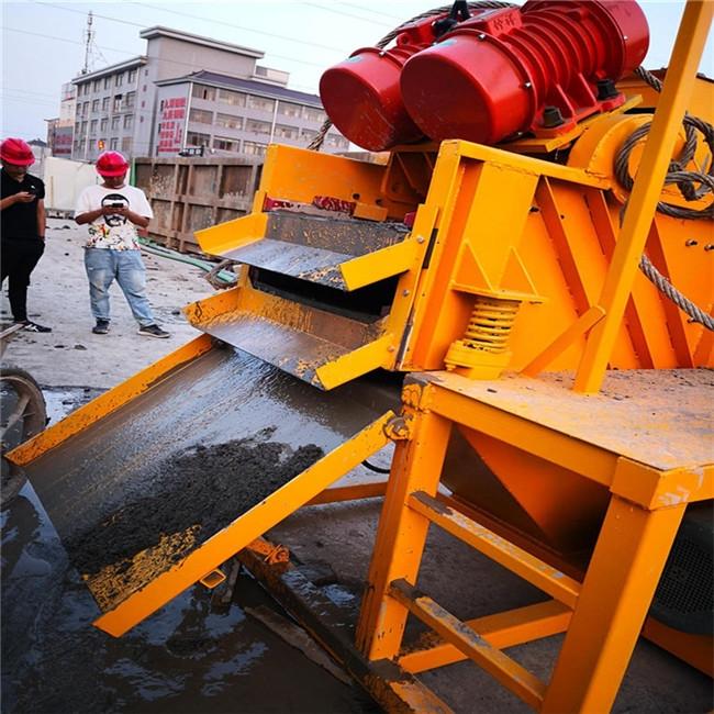 四川泸州泥浆循环净化泥水分离器指导报价