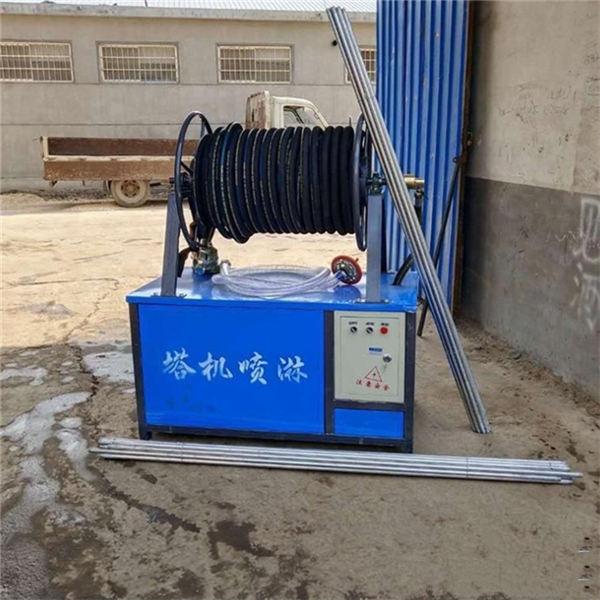 浙江江山高空环保工地降尘塔吊喷淋系统