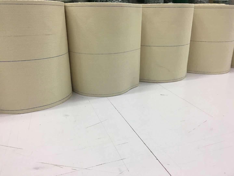 湖南益阳市瓦楞纸板帆布带千始全棉输送