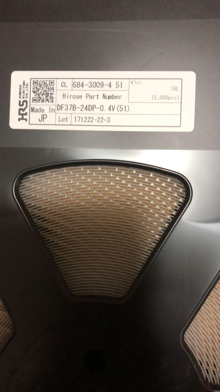 肇慶市廣瀨HRS連接器DF37B-74DP-0.4V