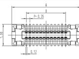 東莞市廣瀨HRS連接器BM23FR0.6-12DP-0.35V(51)