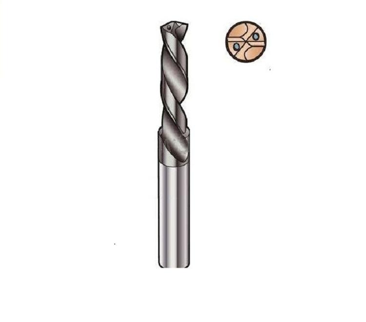 中心喷水钻头定制,可高速高温自冷却钻深孔