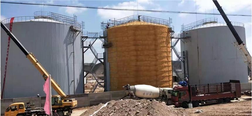 山東聊城罐體外包巖棉怎么做 鐵皮保溫廠家