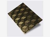 304蚀刻不锈钢彩色板 高品质装饰压花板不锈钢批发