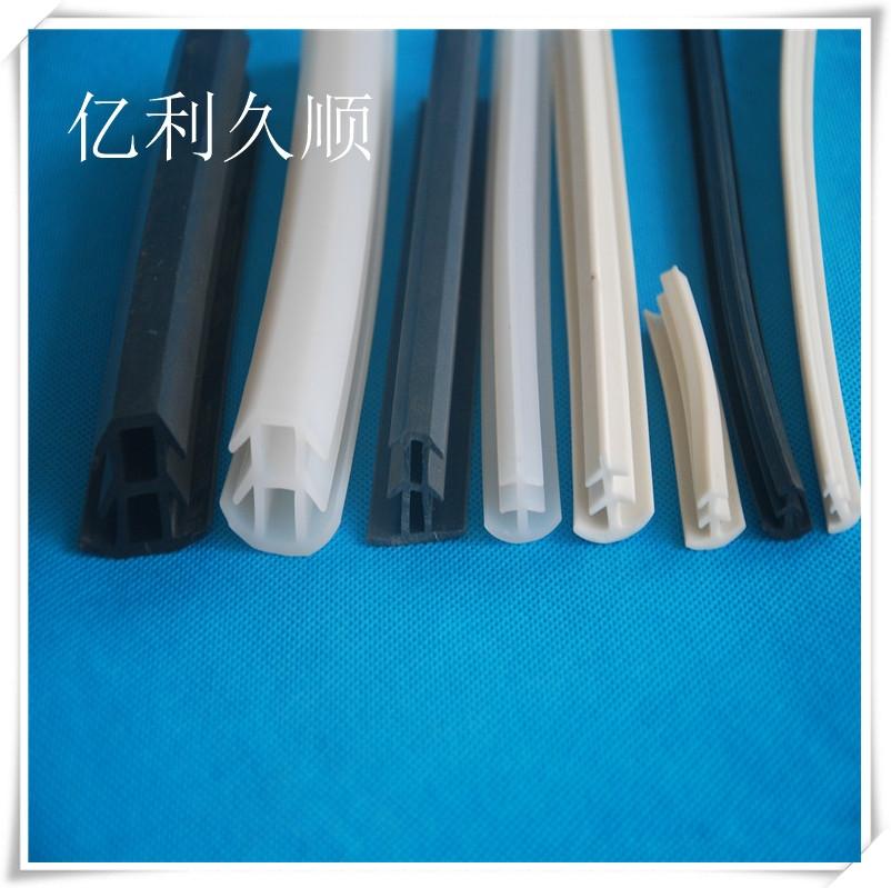 防水密封條 油水橡膠圓管T型填縫密封條 圓形橡膠密封條 可定制