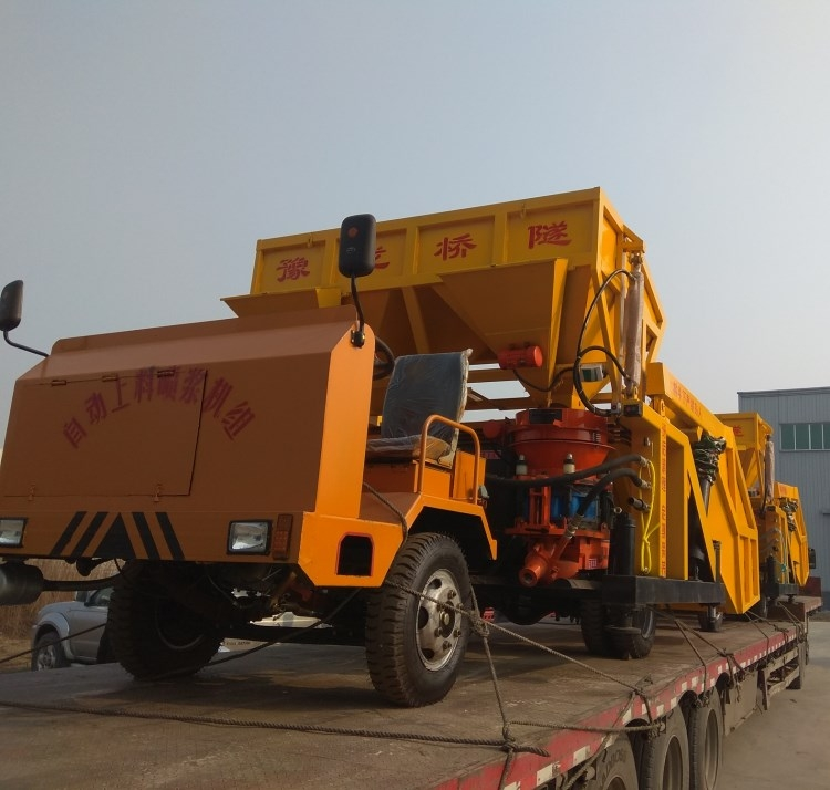 广西柳州自动上料喷锚车