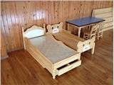 重庆南岸幼儿园专用实木床新型厂家,行业领先