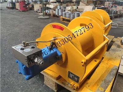 2噸液壓卷揚機 小型供應液壓絞盤馬達廠家發貨