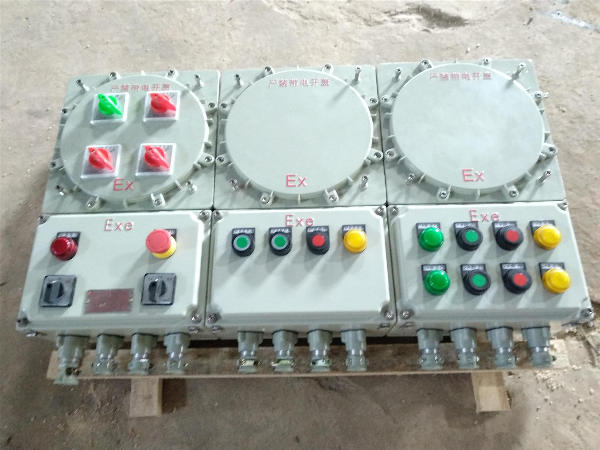 防爆控制箱石油化工專用設備 大小可定制