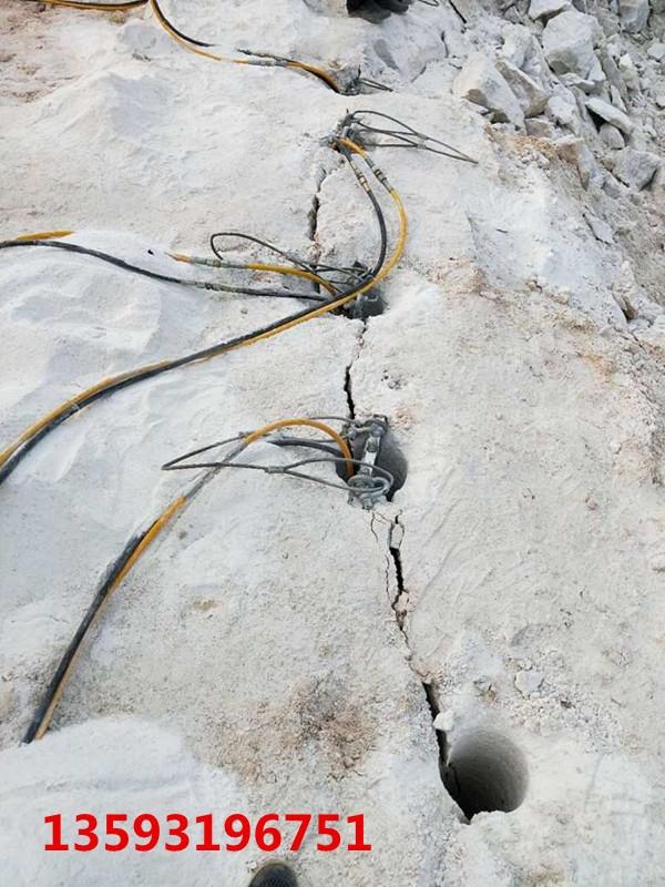 矿山岩石分裂破碎开采破石机%郴州德国技术