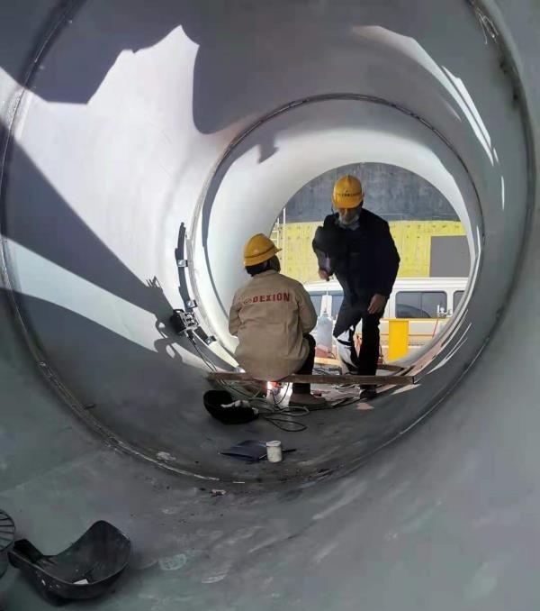 KA-H10柔性轨道内环缝管道焊接小车,大管道环缝焊接小车