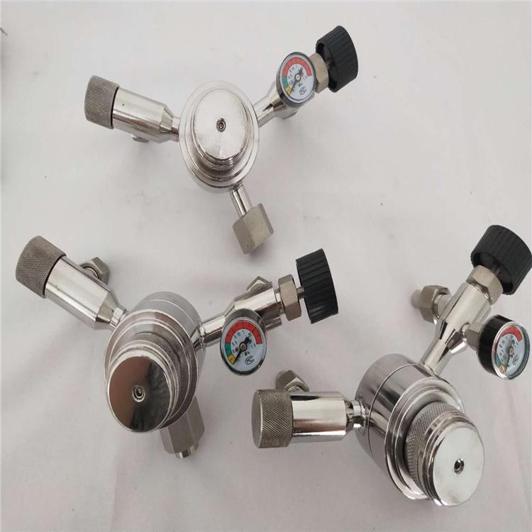 不銹鋼帶壓力表恒壓閥SY24W-320P 調節樣水壓力