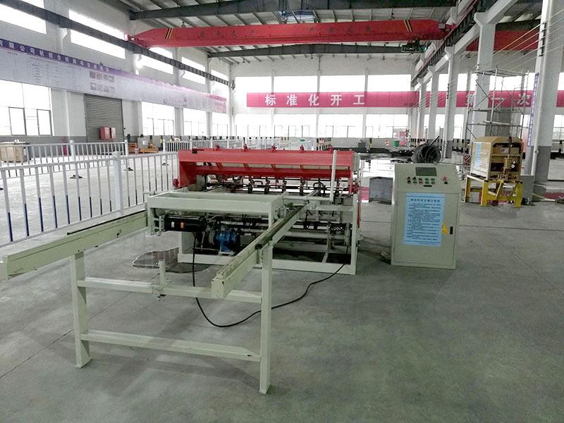 大型圓鋼筋焊網設備參數