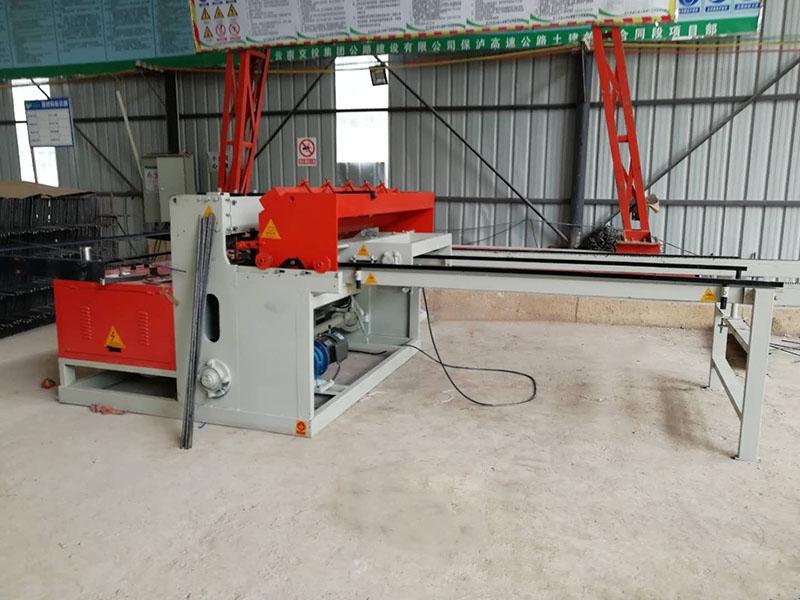 礦用氣動鋼筋網片焊網設備操作規程