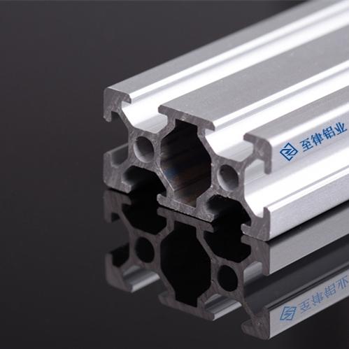 ZL-6-2040工業鋁型材框架定制機箱機架展示架柜鋁合金開模一上海至律鋁業