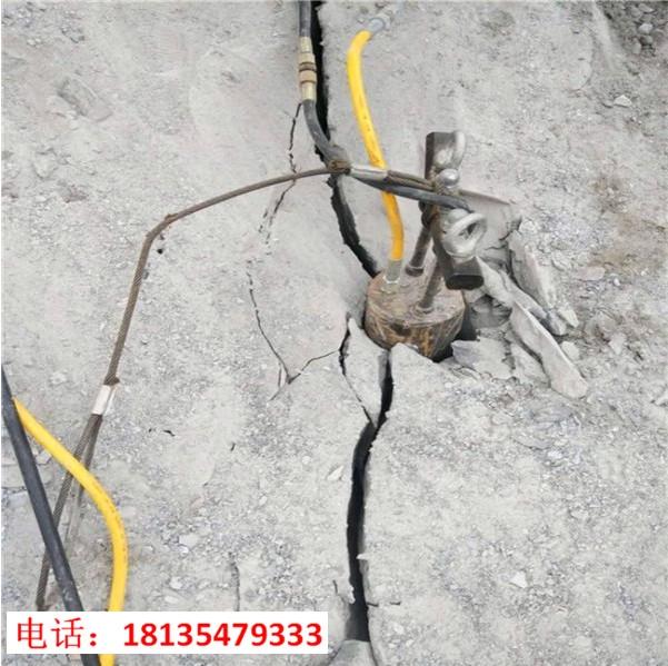 修建玻璃栈道破石头用劈裂棒湖南株洲厂家