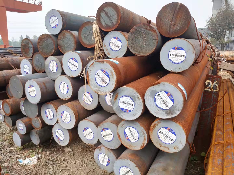 江苏扬州市42CrMo圆钢长度8米产地淮钢送货上门
