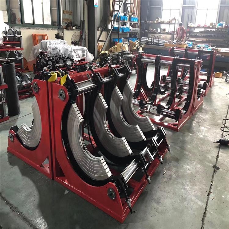 250-400型PE给水管热熔机 液压半自动热熔焊机厂家销售