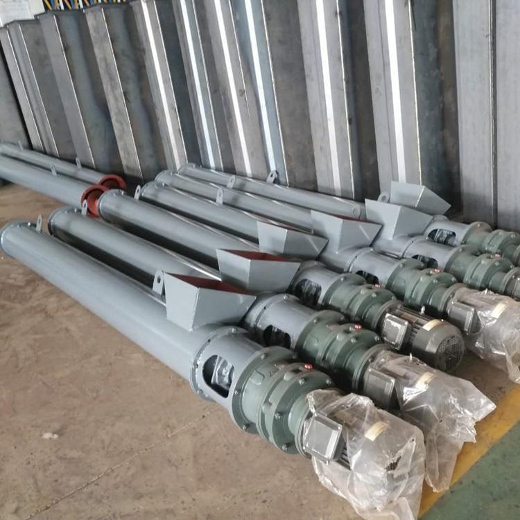 生產廠家供應 管式螺旋輸送機 U型300螺旋輸送機 不銹鋼螺旋輸送機 絞龍輸送機