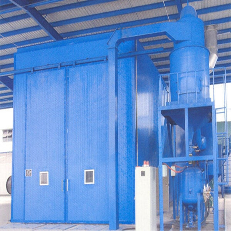 食品加工機器不銹鋼板表面磨砂效果處理 延安自動回收噴砂房