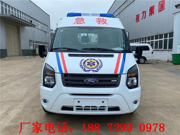 武威救護車銷售點 福田V362救護車價格