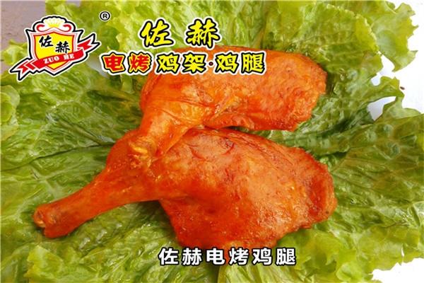广安电烤鸡排旋转烤鸡架#