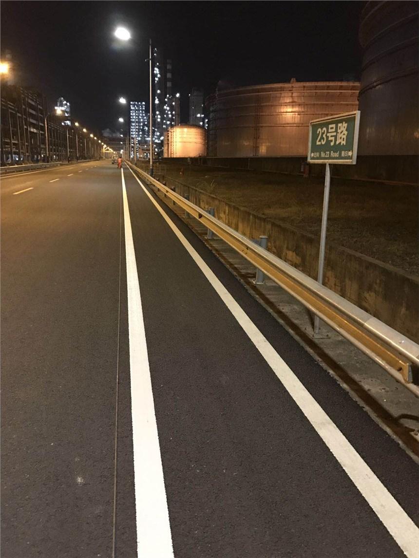 深圳小区通道标线,深圳飞机场车库车位划线方法,深圳交通道路划线工程