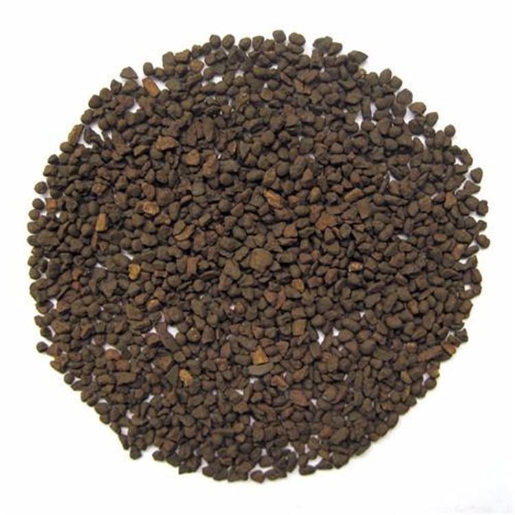 廣東 榮茂天然錳沙標準飲用水除鐵除錳錳沙濾料現貨供應