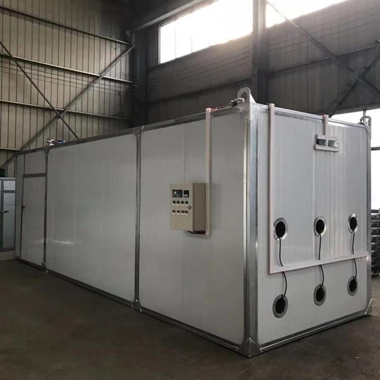 河南烘干房厂家  高温烘干房  专业定制电加热烘干房