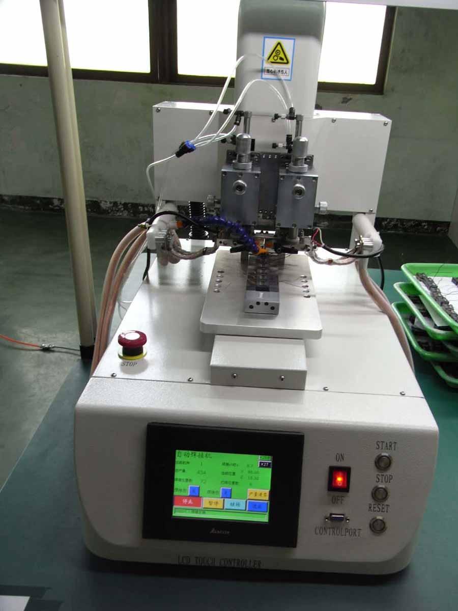 網絡變壓器模組RJ系列漆包線自動點焊機