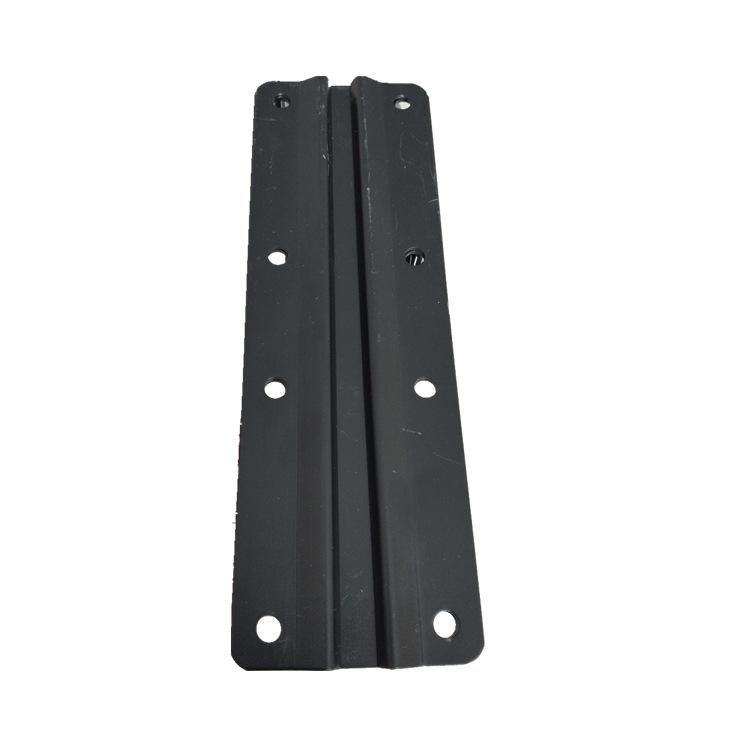 昱阳轨道夹板 工字轨道连接板 天花路轨滑动延长板 专用固定板