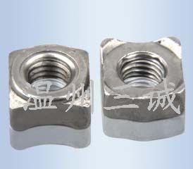 不锈钢焊接螺母焊接螺丝三点焊接螺母锁用五金配件温州焊接螺母