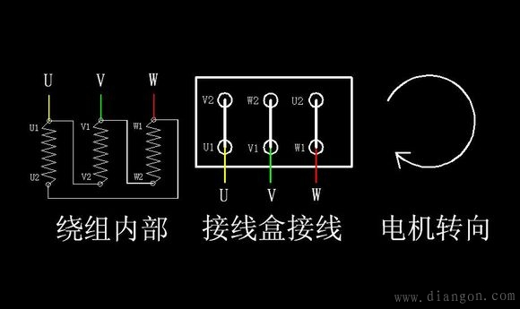 >> 电机星角启动电路图_星三角启动原理图_星角启动实物接线图   星角
