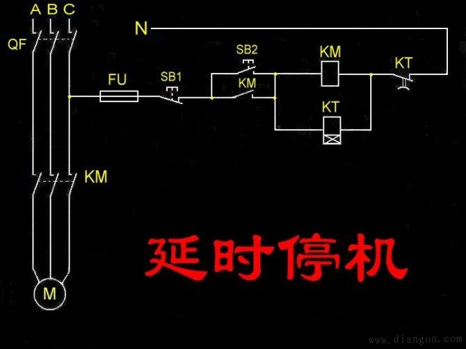 常用电机控制电路图_电动机控制电路精选_常用电机控制电路图集