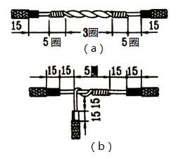 单股铜芯线接法图解