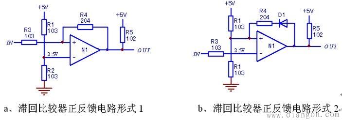 """""""点""""比较器和""""段""""比较器电路"""