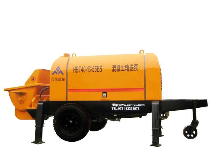 众宇已掌握了混凝土输送泵制造的核心技术