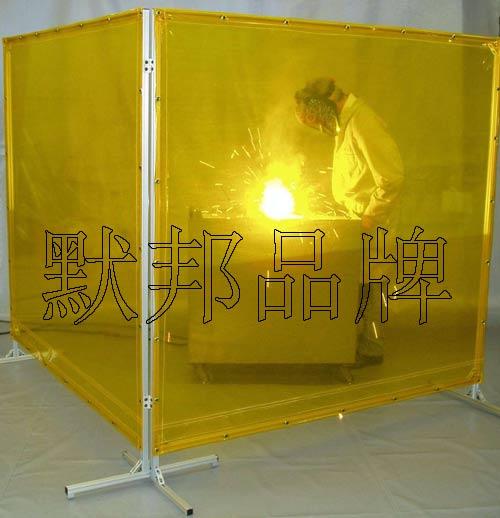 供应默邦防弧光帘,防电焊光门帘